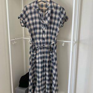 Precious 1950's Gingham Market Dress